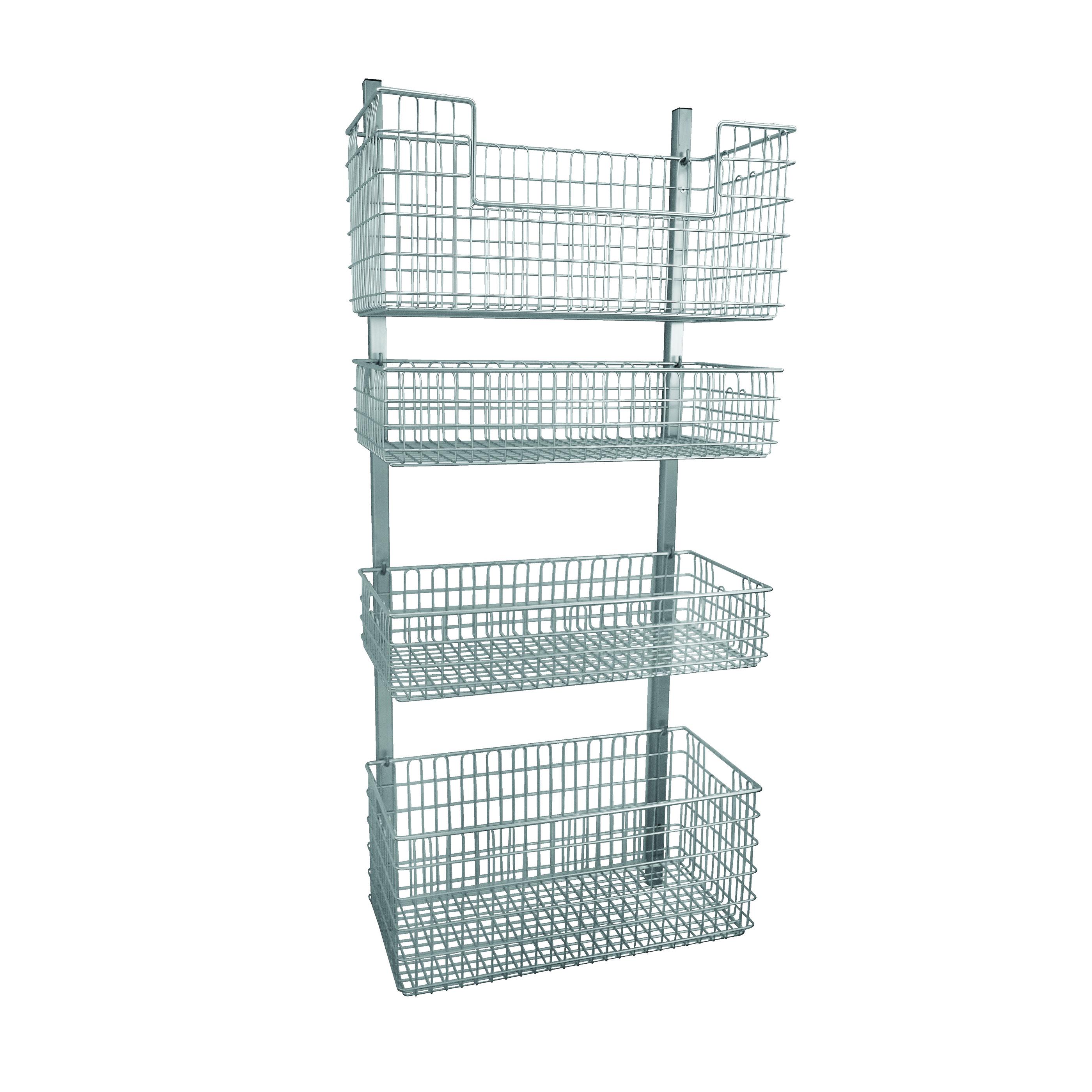 Genial Wall Basket Storage